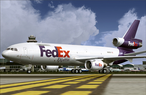 Picture of Fedex Jet
