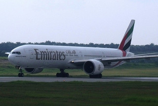 Picture of Emirates Jet