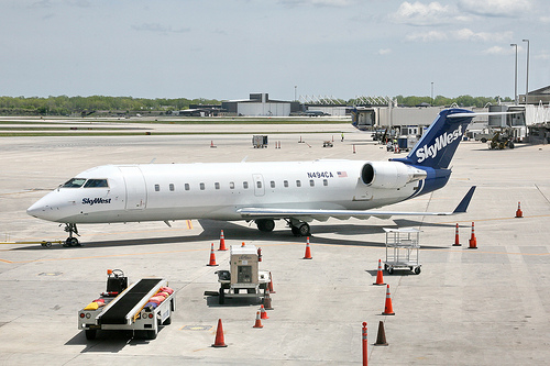 Picture of Skywest Jet